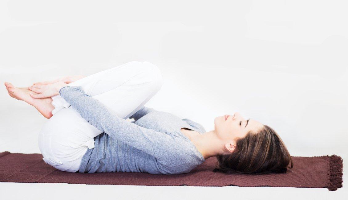 yogamat katoen