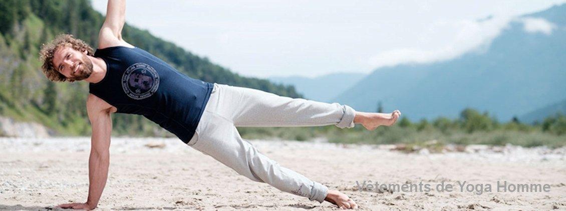 Vêtements de Yoga homme