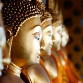 Statues de Bouddha