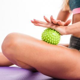 Masser la Balle de Pilates