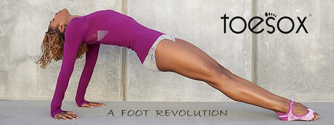 Chaussettes de Yoga Toe Sox